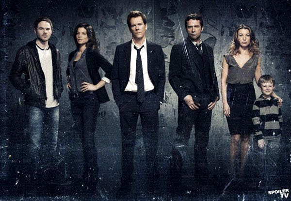 The main cast of THE FOLLOWING, Season 1.