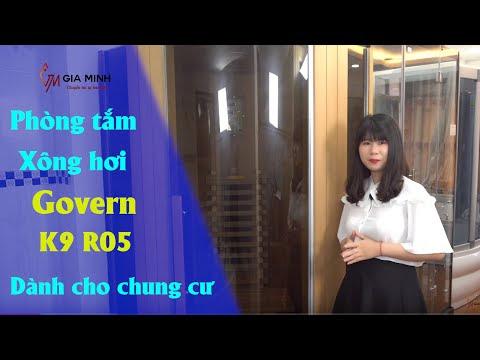 Trải nghiệm phòng tắm xông hơi hồng ngoại Govern K9 R05
