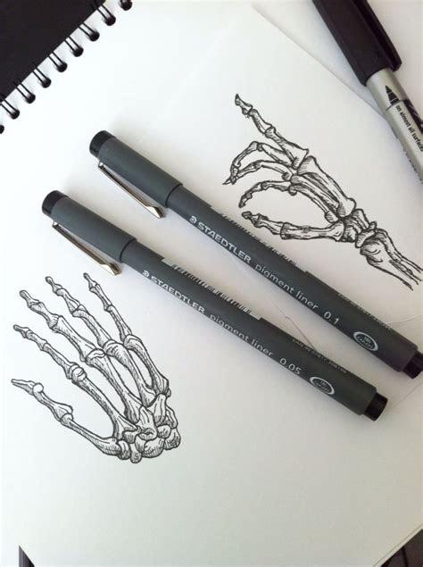 hand drawn skeleton hands skeleton hand tattoo