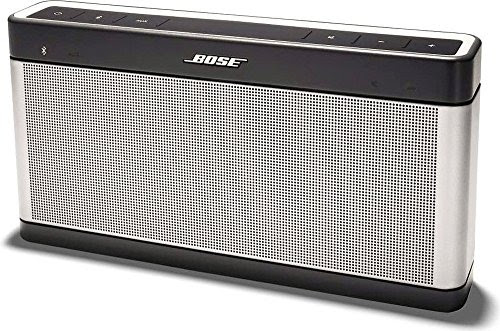 Bose SoundLink III Bluetoothスピーカー ポータブル/ワイヤレス対応 シルバー SLink BT III【国内正規品】