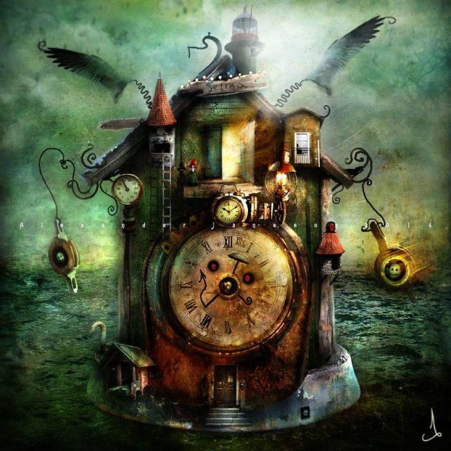 Alexander Jansson illustration fairytale17