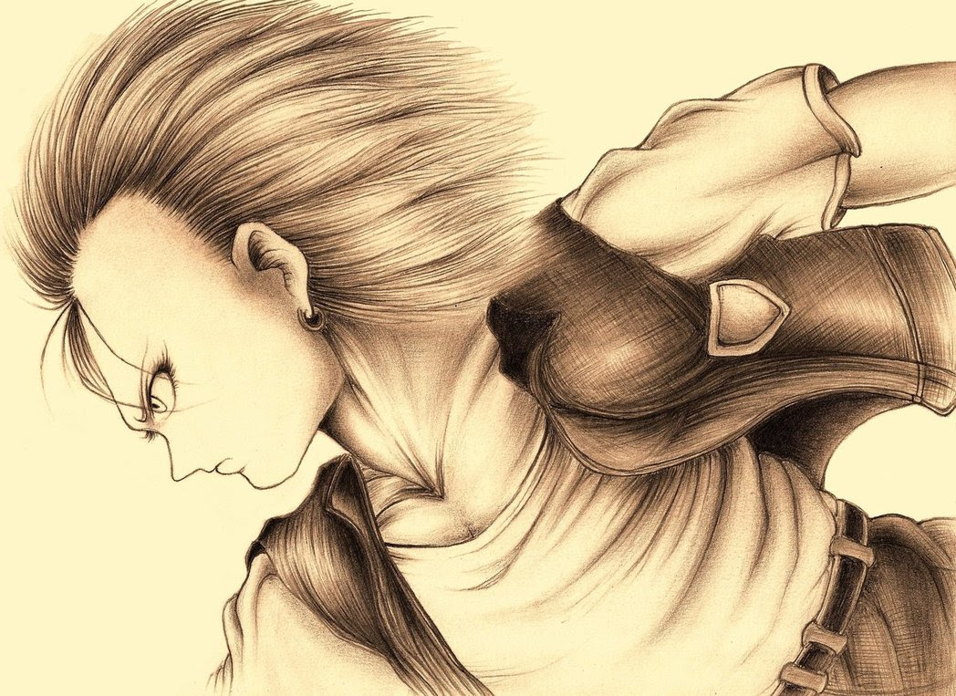 Android 18 Dragon Ball Z Fan Art 27535416 Fanpop