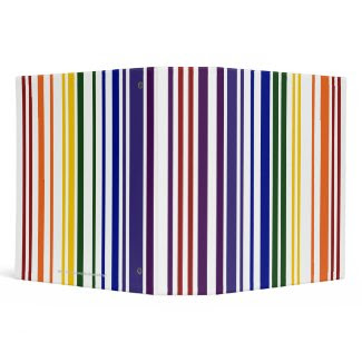 Double Rainbow Barcode binder