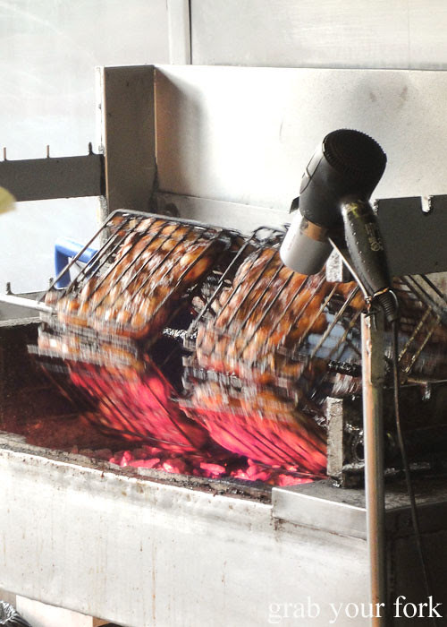 hairdryer at habib's charcoal chicken, bankstown