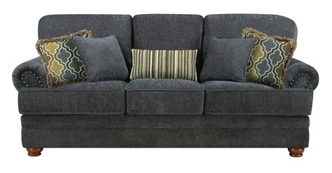 coaster colton living room set smokey grey  livset