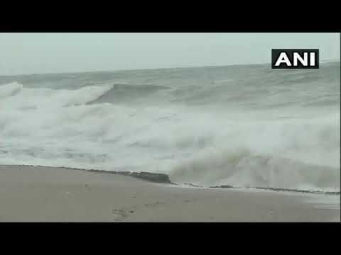 तूफान आने से पहले समुद्री किनारों पर क्या होता है, देखिए पोबंदर गुजरात का लेटेस्ट VIDEO