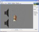 Screenshot of the simulation Ηχητικά κύματα