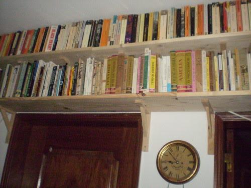 Where should I put all the books?