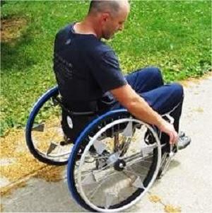 Câmbio automático para cadeira de rodas
