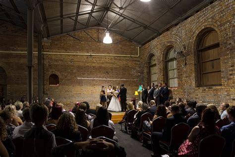 Inside Walka Water Works, Hunter Valley wedding venue