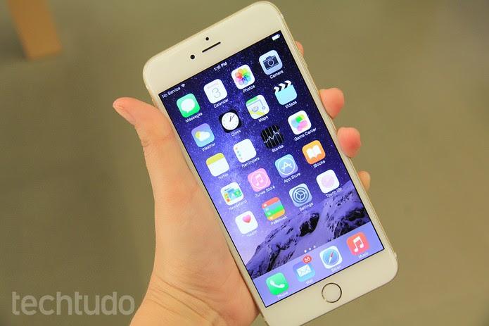 iPhone-6-mão (Foto: Anna Kellen/TechTudo)