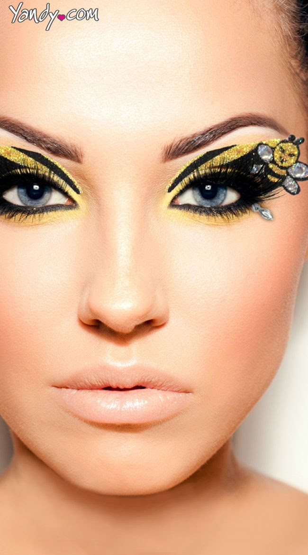 Bee makeup ideas