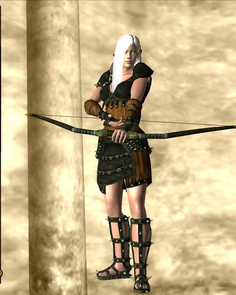 arena armor, light - amber 05