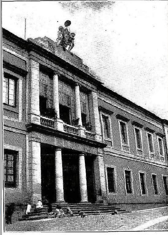 Hospital del Nuncio en 1909. Revista Por esos mundos