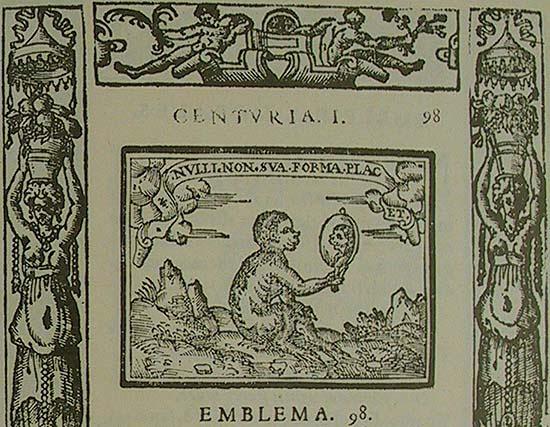 Sebastián de Covarrubias, Emblemas morales, I.98: Nulli non sua forma placet