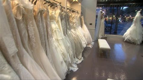 Knock Off Wedding Gown Sites Get Sued Video   ABC News