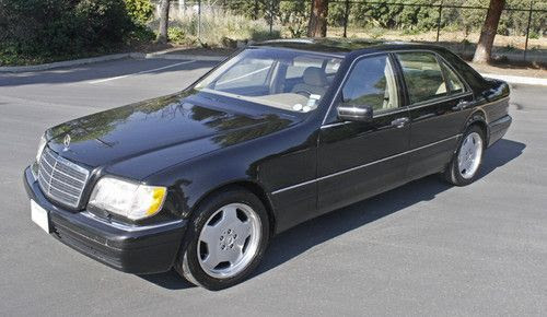 Sell used 1999 Mercedes Benz S500 Grand Edition, 1 of 600 ...