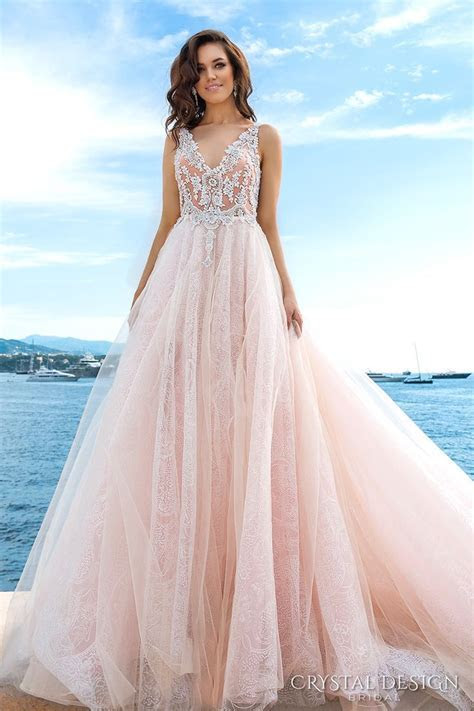 205 best images about Pink & Blush Gowns on Pinterest