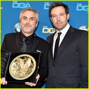 Ben Affleck Presents Top Prize at DGA Awards 2014!   2014 DGA ...