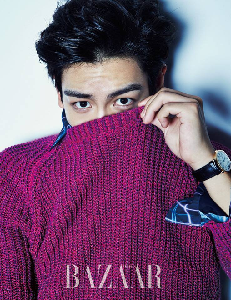 Big Bang TOP - Harper's Bazaar Magazine September Issue '14