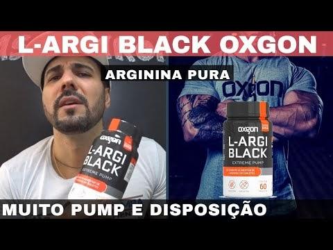 L-ARGI BLACK OXGON A ARGININA PURA QUE DA PUMP E DISPOSIÇÃO NO TREINO
