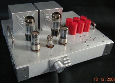 Single-Ended (SE) 6L6 / 6L6GC / 5881 Tube Amp