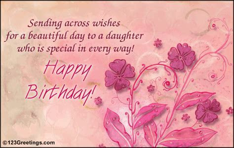A Birthday Wish For Your Daughter  Free For Son