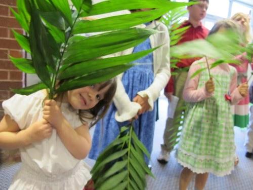 Palm Sunday Wreath Craft