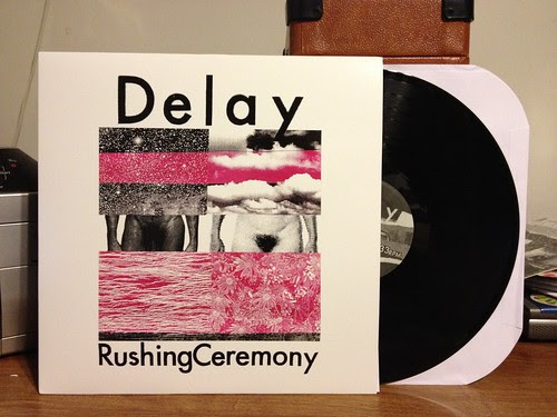 Delay - Rushing Ceremony LP (Cover art not particularly safe for work) by Tim PopKid