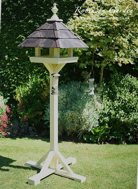 Robinson Garden Bespoke Bird Table and Bird Houses