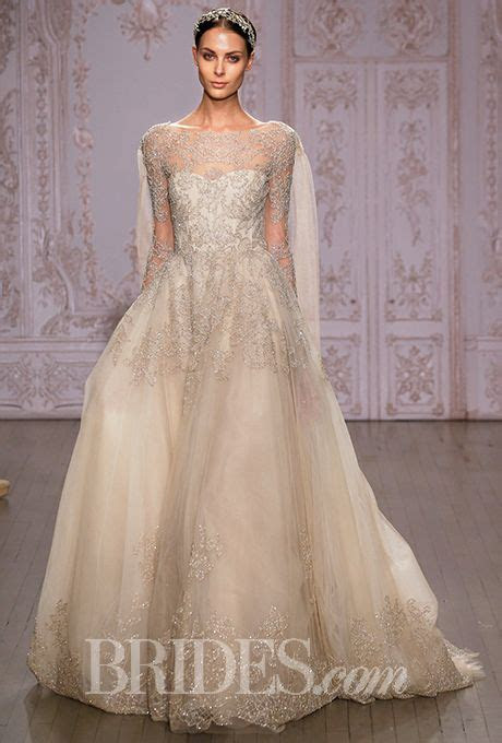 Wedding Dresses with Illusion Necklines from Fall 2013