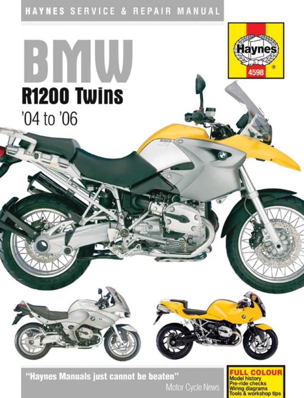 BMW R 1200 GS Spoked wheel 2004 Haynes Service Repair Manual 6281 ...