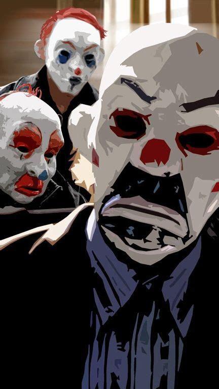 dark knight joker masks iphone wallpaper iphone