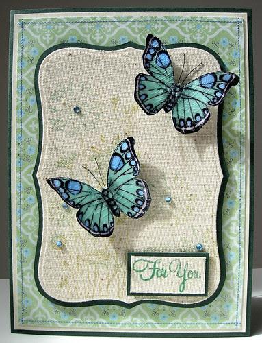 Crackled Butterflies