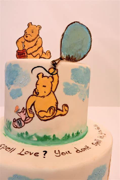 Classic Winnie The Pooh Cake   CakeCentral.com