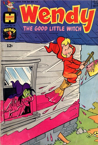 Wendy, the Good Little Witch 48 (by senses working overtime)