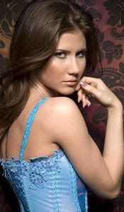 Convicted Russian spy / current Internet sensation Anna Chapman.