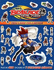 Beyblade Metal Fusion : Mon livre collector: Amazon.co.uk ...