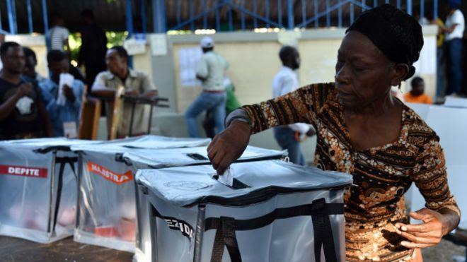 Resultado de imagen para elecciones en haiti octubre 2016