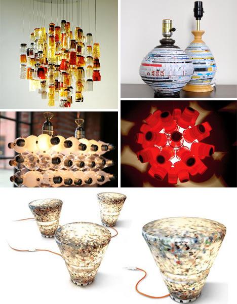 Bright Ideas: 41 Bold, Beautiful + Bizarre Recycled Lamps | Urbanist