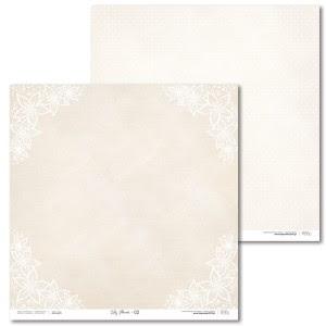 Papier 30 x 30 cm - Lily Flower - 02 - Laserowe LOVE