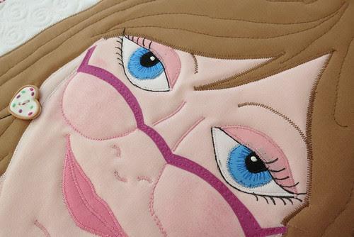 Sharon's pretty eyes