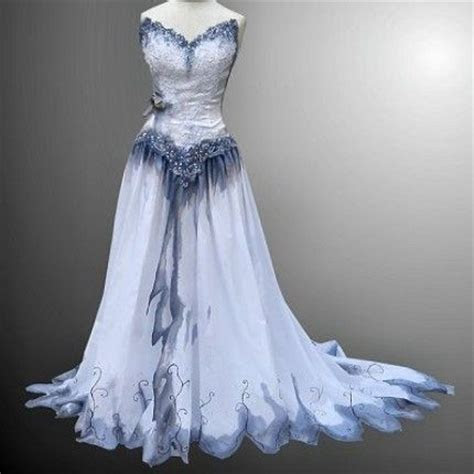 Alyssa's prom dress, inspired by the Corpse Bride Dress