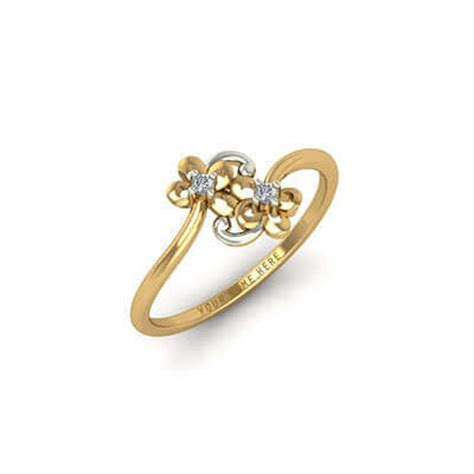 Buy Unique Gold Engagement Rings Online In Chennai