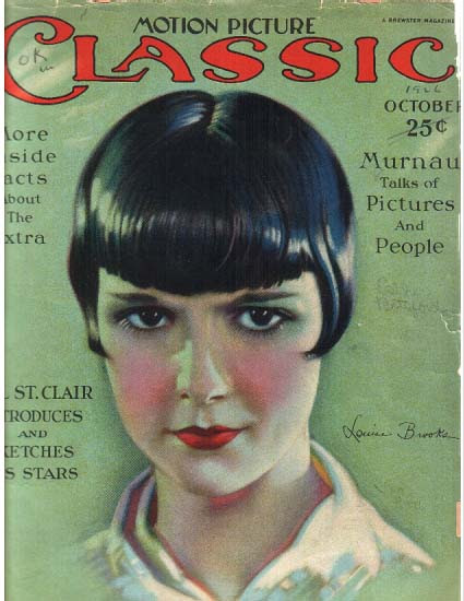 Motion Picture Classic, Louise Brooks, 1920s