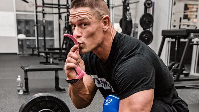 John Cena o ciężkiej pracy