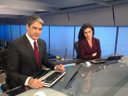 Bonner e Renata Vasconcelos recebem pagamentos como pessoas juridicas para driblar impotos