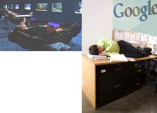 9-Employer Sleeping at Google in the Third World