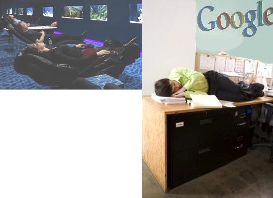 9-Employer Sleeping at Google in the Third World