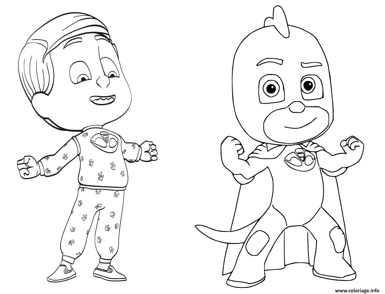 Coloriage Pyjamasques à Imprimer
